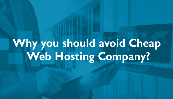 avoid cheap hosting