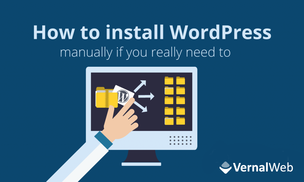 wordpress manual installation