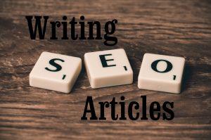 Write SEO optimized article