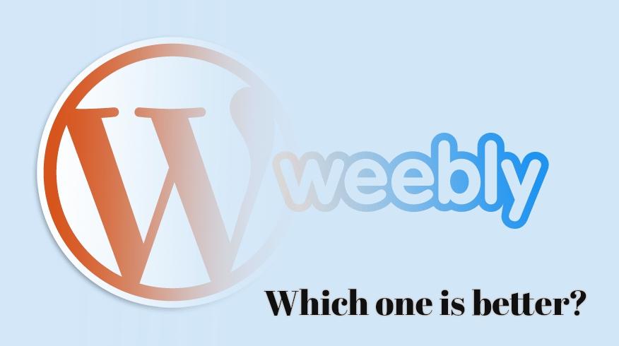 WordPress vs Weebly