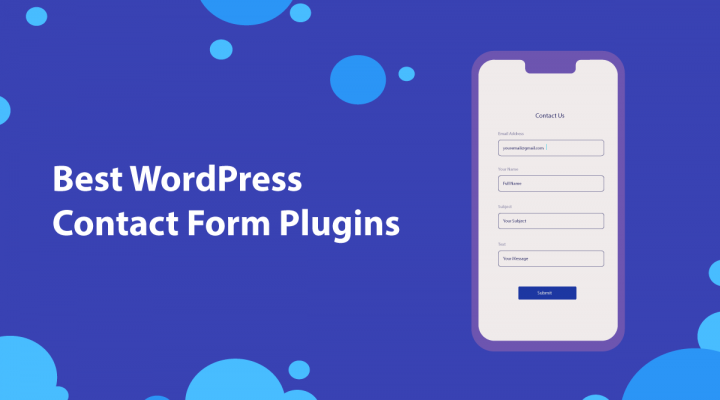 5 Best Contact Form Plugins for WordPress in 2019