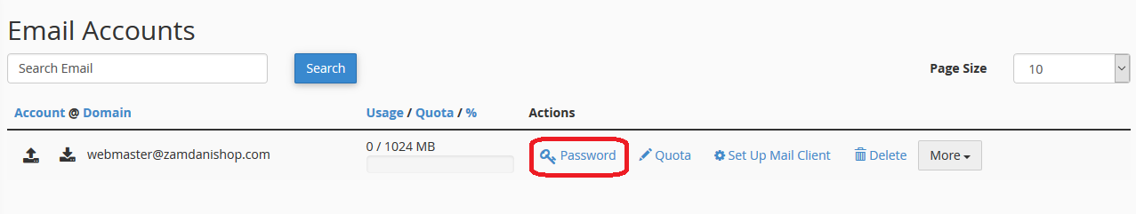 How To Update Email Password From Cpanel Ezzytech