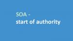 start of authority